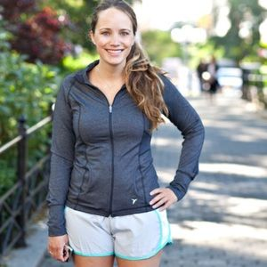 Old Navy Active Track Workout Jacket in Gray